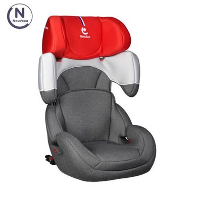 Автокресло Renolux StepFix 23 Smart Red + бустер Renolux Reno Junior в Подарок!