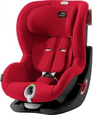 Автокресло Britax-Romer KING II Black Series Fire Red