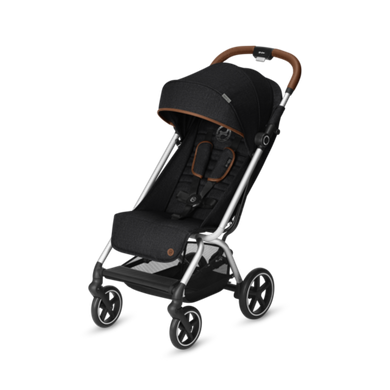 Коляска прогулочная Cybex Eezy S Plus Denim Lavastone Black