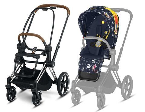 Коляска прогулянкова Cybex Priam Lux Anna K Space Rocket / Chrome
